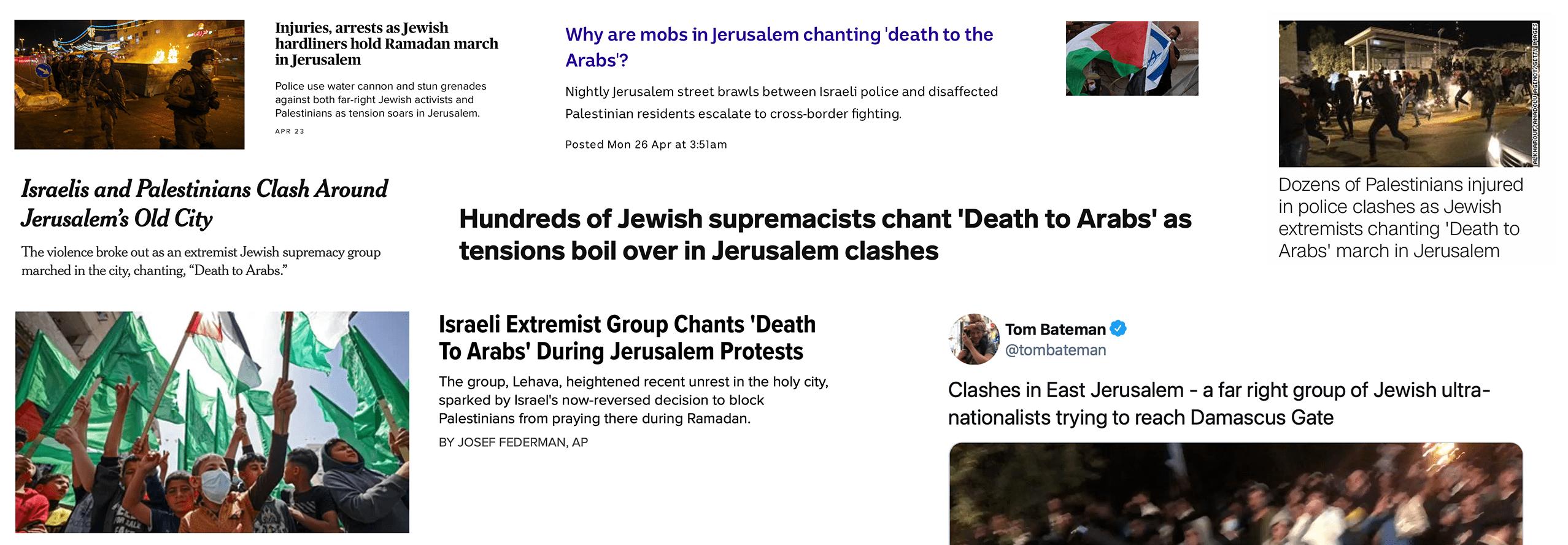 Wat de media u niet zullen vertellen: de oorzaak van rellen in Jeruzalem